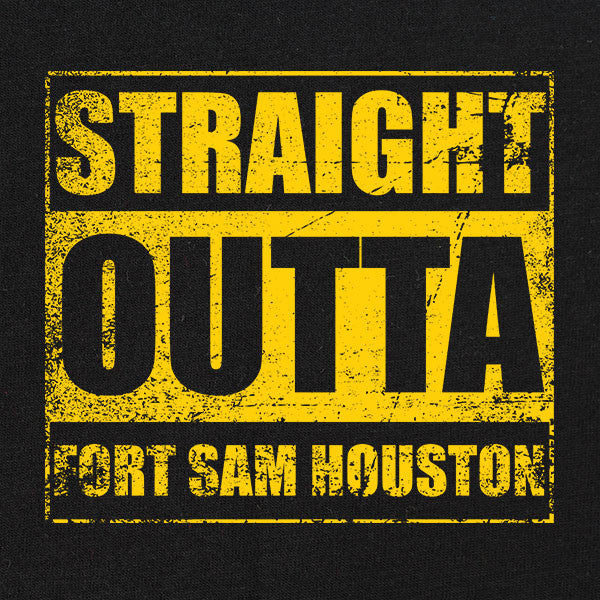 Original Straight Outta Fort Sam Houston T-Shirt