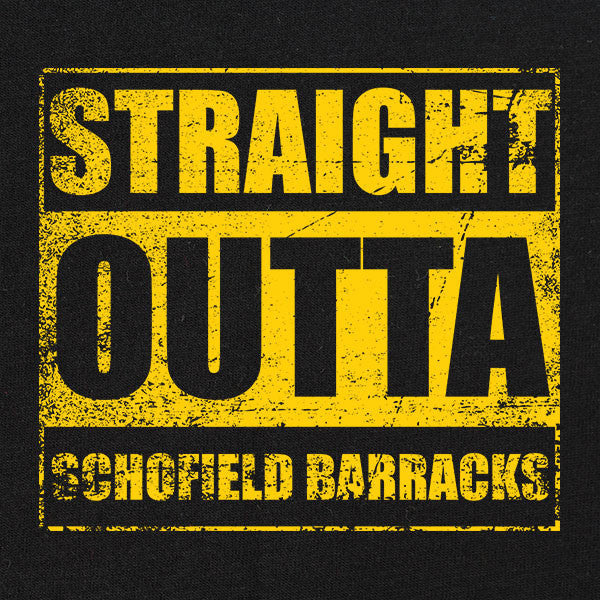 Original Straight Outta Schofield Barracks T-Shirt