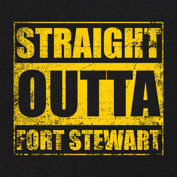 Original Straight Outta Fort Stewart T-Shirt
