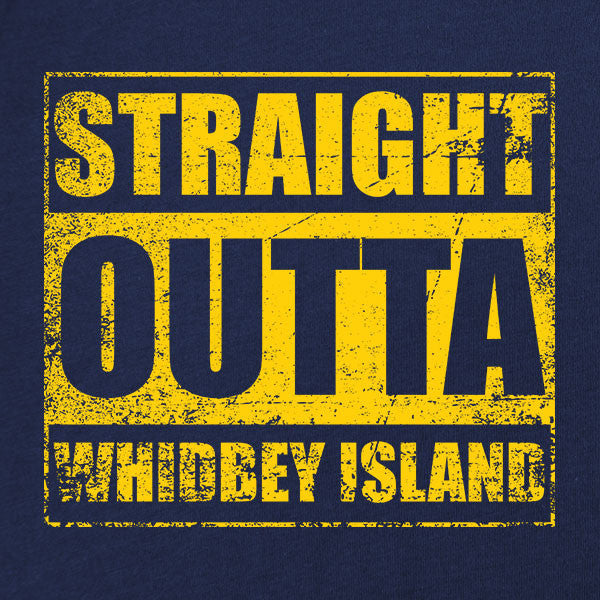 Original Straight Outta Whidbey Island T-Shirt