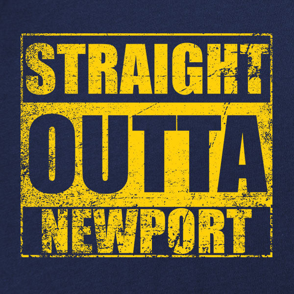 Original Straight Outta Newport T-Shirt