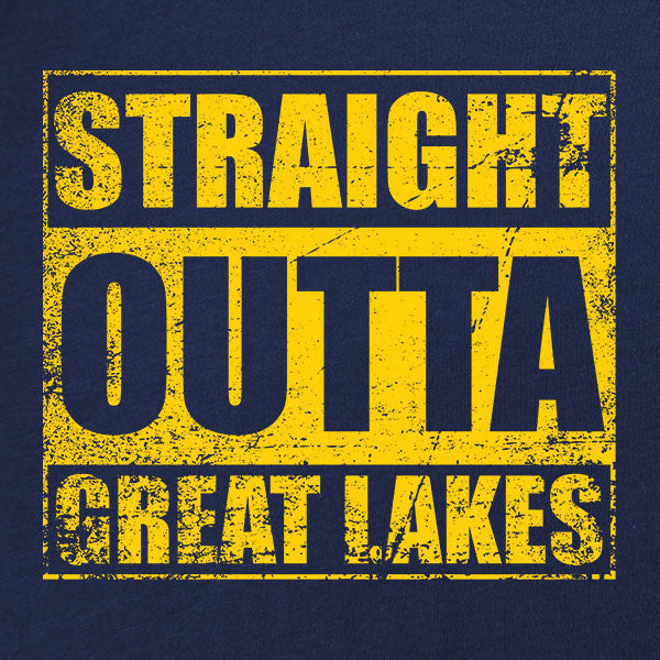 Original Straight Outta Great Lakes T-Shirt