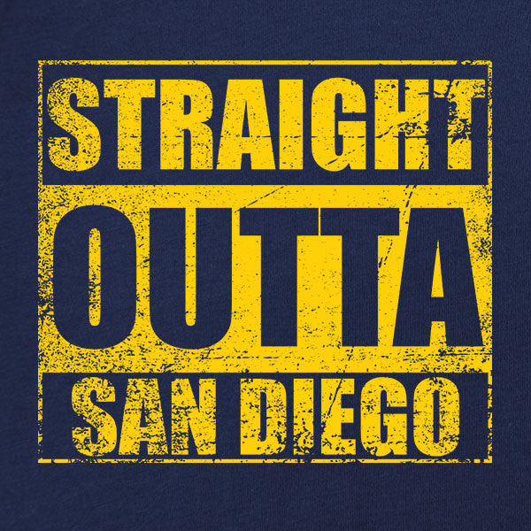 Original Straight Outta San Diego T-Shirt
