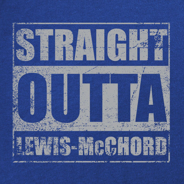 Original Straight Outta Lewis-McChord T-Shirt