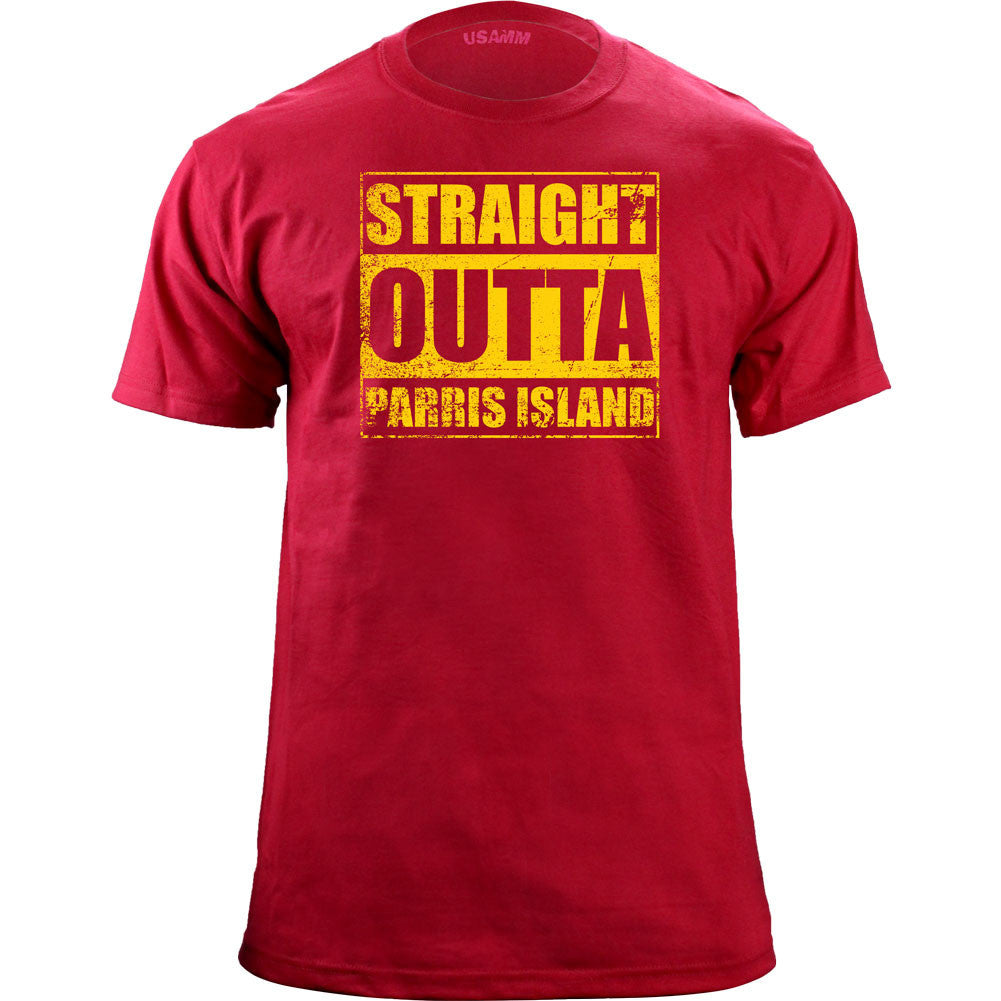 Original Straight Outta Parris Island T-Shirt