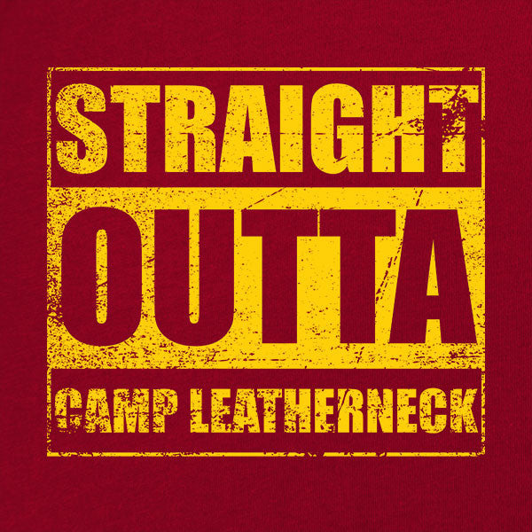 Original Straight Outta Camp Leatherneck T-Shirt