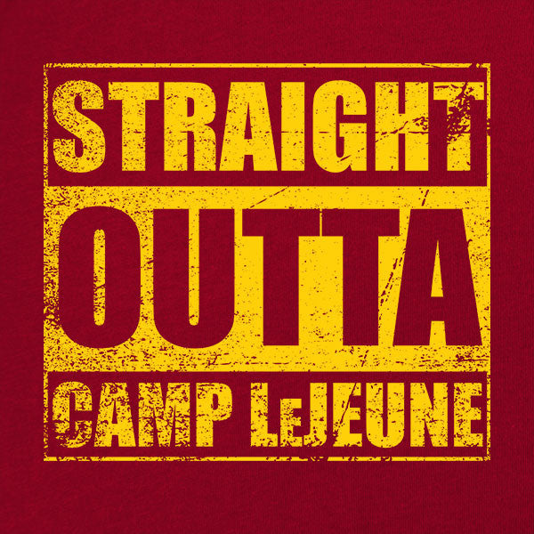Original Straight Outta Camp LeJeune T-Shirt