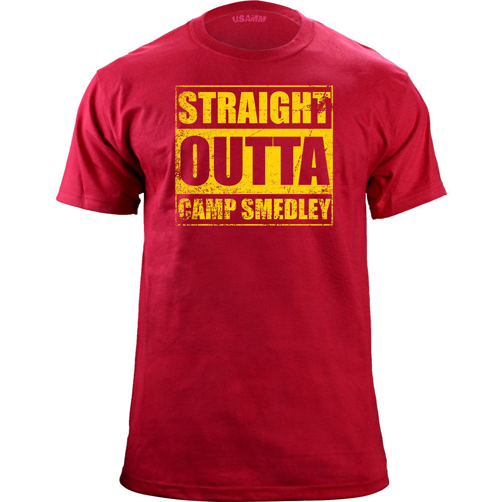 Original Straight Outta Camp Smedley T-Shirt
