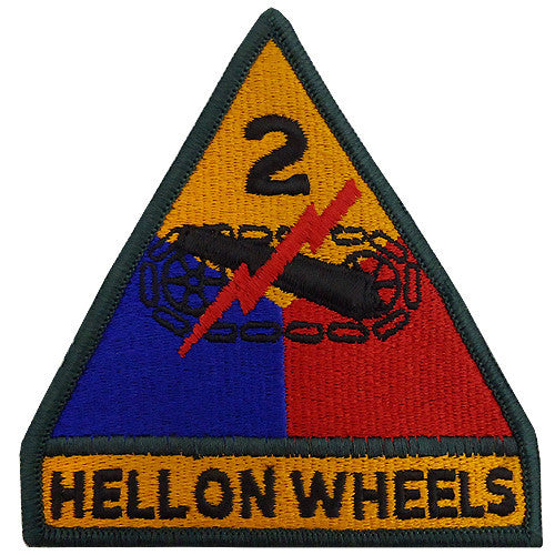 2nd Armored Division Class A Patch