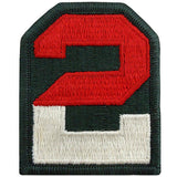 2nd Army Class A Patch