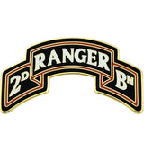 2nd Battalion - 75th Ranger Regiment Scroll Combat Service Identification Badge