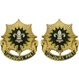 2nd Cavalry Regiment Unit Crest (Toujours Pret)