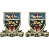 Special Troops Battalion, 2nd Brigade Combat Team, 28th Infantry Division Unit Crest (Ferreus Armatura)