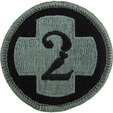 2nd Medical Brigade ACU Patch