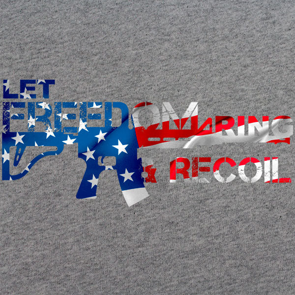 Let Freedom Ring and Recoil 2A T-shirt