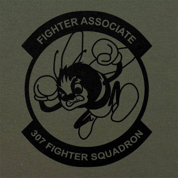307th Fighter Squadron Subdued Patch T-Shirt
