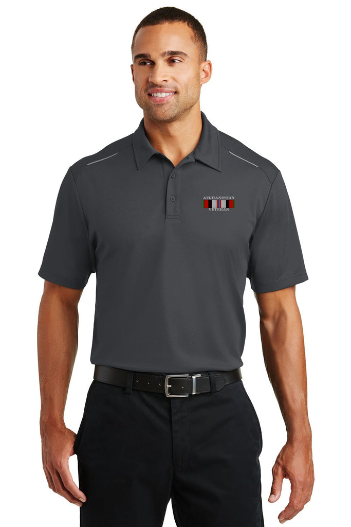 Afghanistan Veteran Performance Golf Polo
