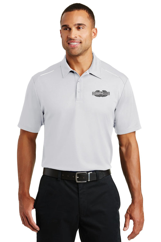 Combat Action Badge Performance Golf Polo