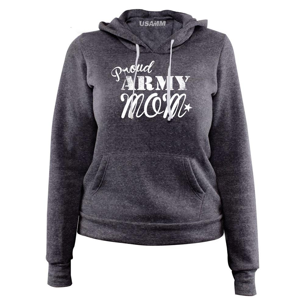 Proud Army Mom Pullover Women's Hoodie