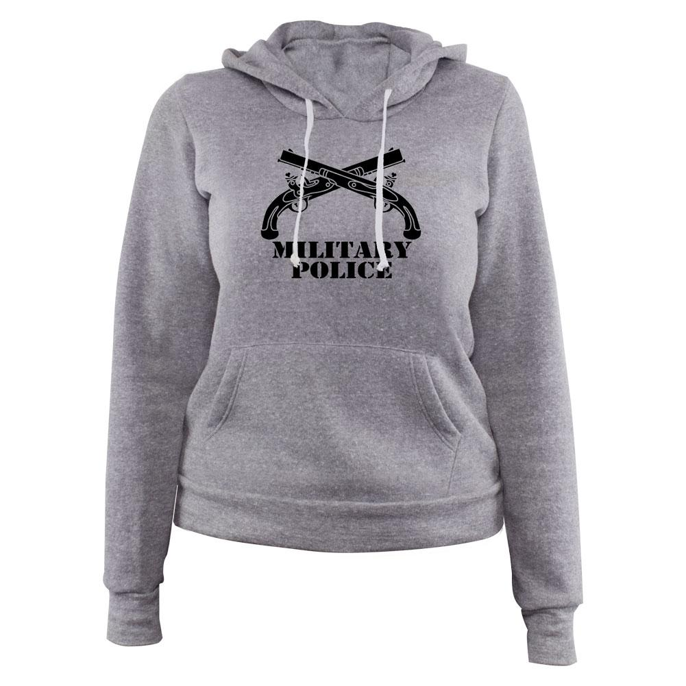 Military Police Insignia Pullover Women's Hoodie