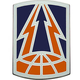 335th Signal Command Combat Service Identification Badge