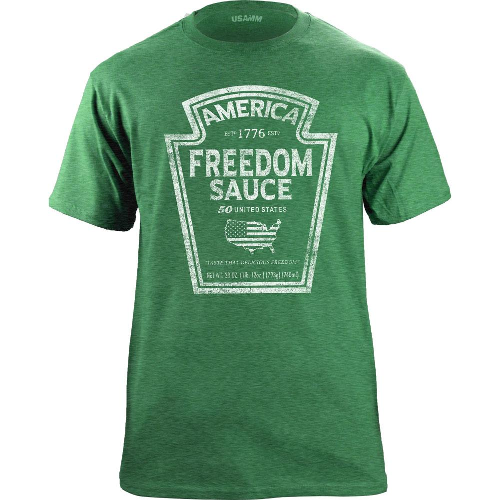 American Freedom Sauce Graphic T-Shirt