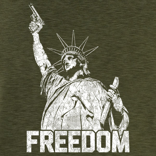 Liberty and Freedom Graphic T-Shirt