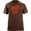 Theodore Roosevelt National Park Neon Sign T-Shirt