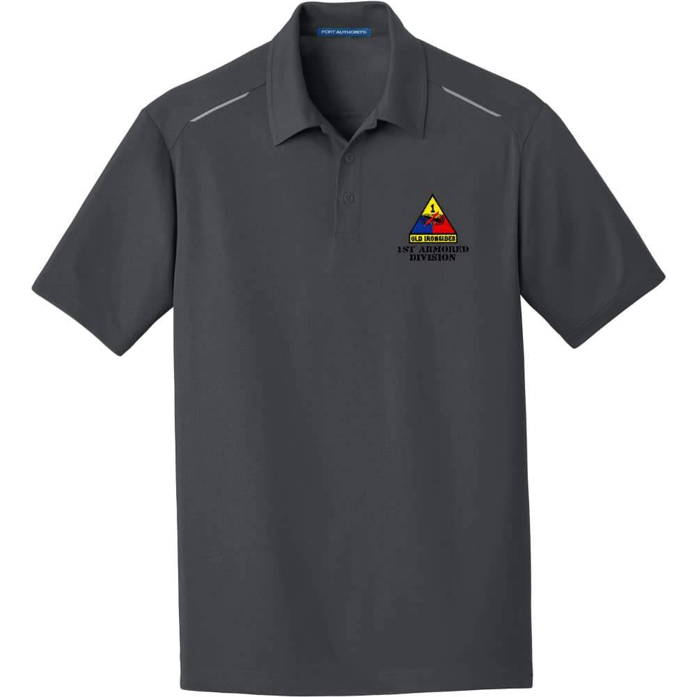 1st Armored Division Performance Golf Polo