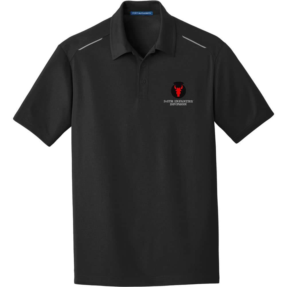 34th Infantry Division Performance Golf Polo
