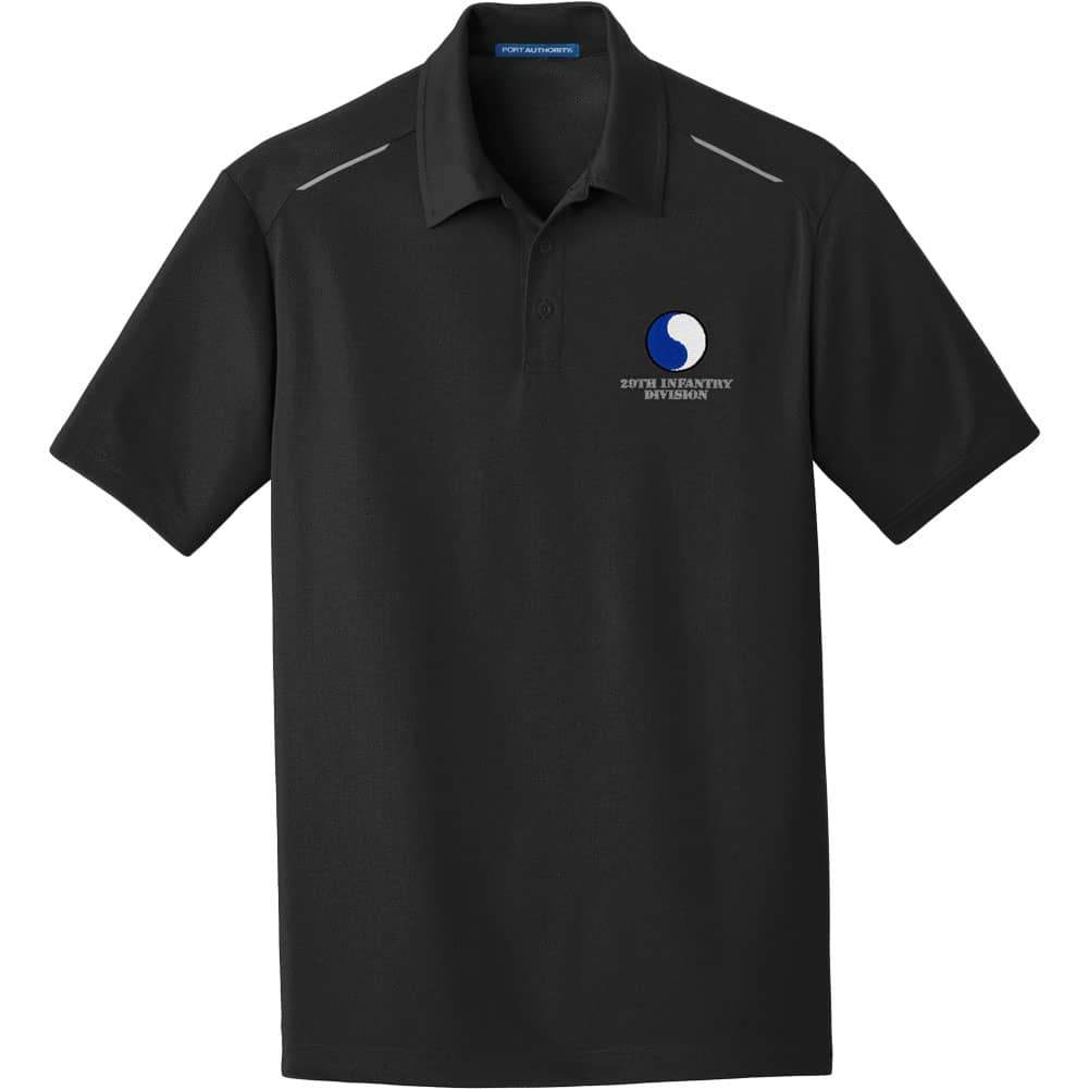 20th Infantry Division Performance Golf Polo