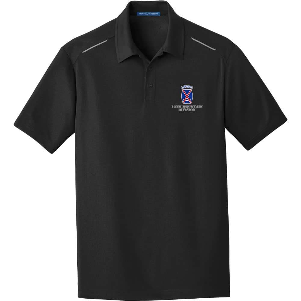 10th Mountain Division Performance Golf Polo