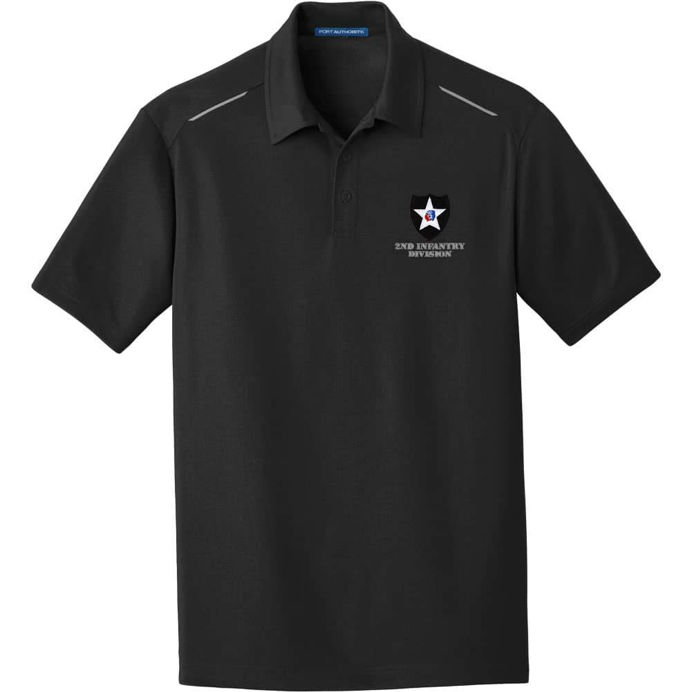 2nd Infantry Division Performance Golf Polo