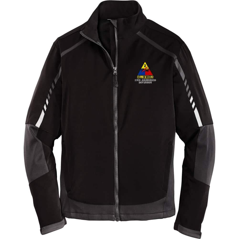 Embark Softshell Jacket - 2nd Armored Division