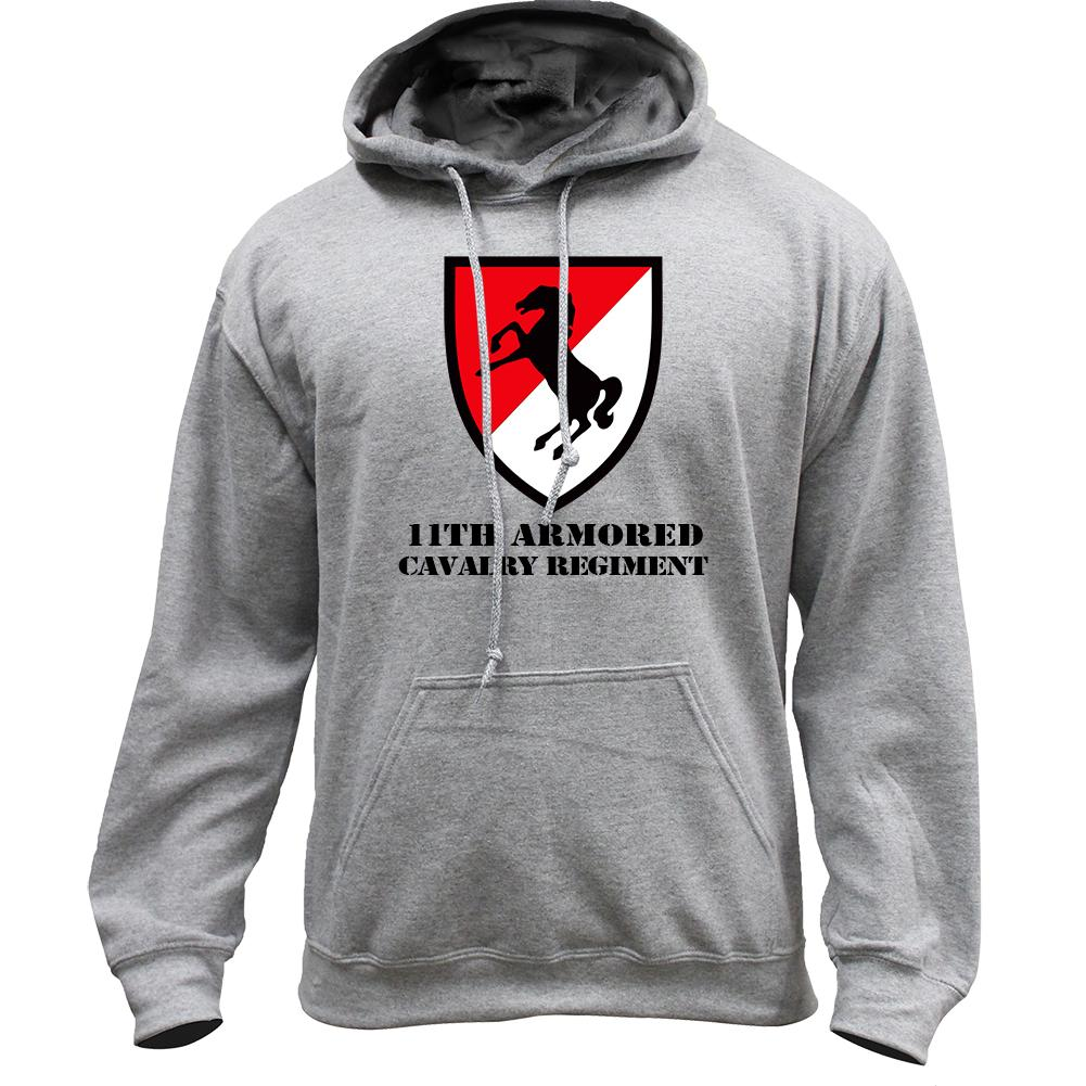 11th Armored Cavalry Full Color Pullover Hoodie