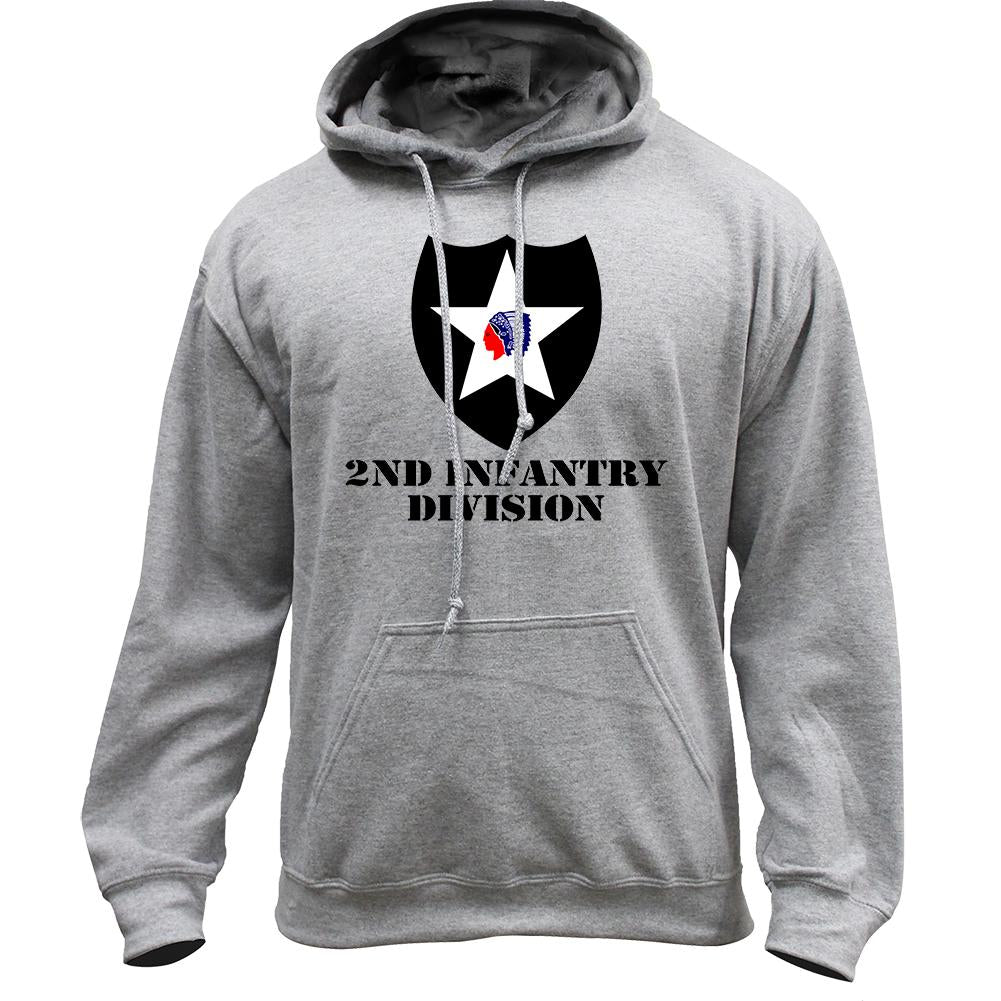 2nd Infantry Division Full Color Pullover Hoodie