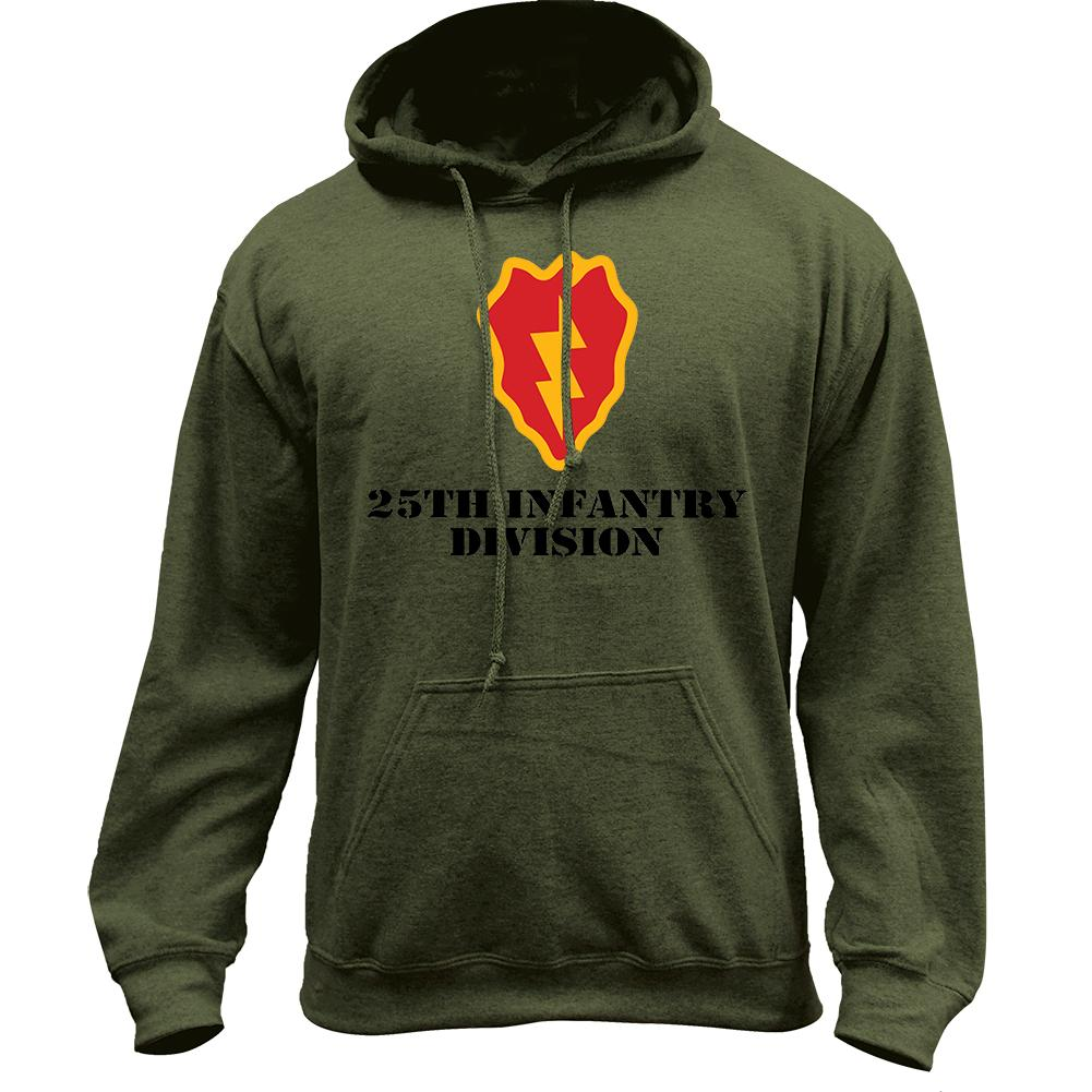 25th Infantry Full Color Pullover Hoodie