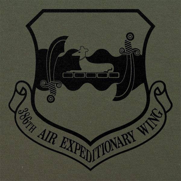 386th Air Expeditionary Wing Subdued Patch T-Shirt