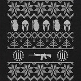 Molon Labe Ugly Sweater Holiday T-Shirt