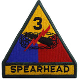 3rd Armored Division Class A Patch