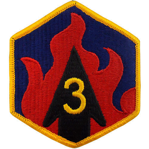 3rd Chemical Brigade Class A Patch