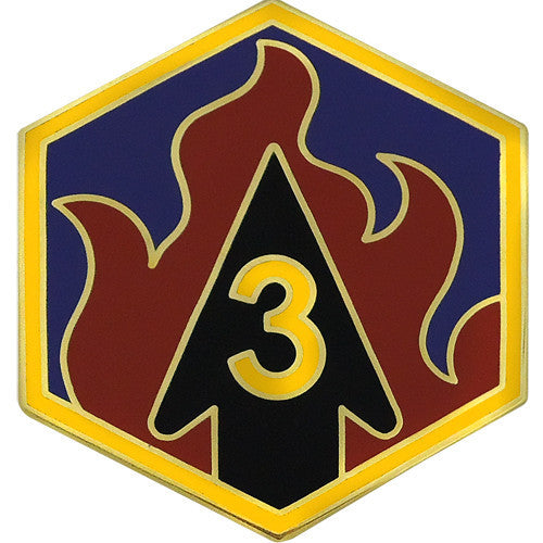 3rd Chemical Brigade Combat Service Identification Badge