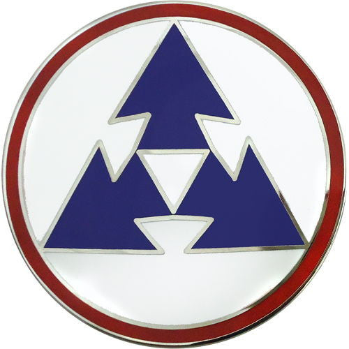 3rd Sustainment Command Combat Service Identification Badge
