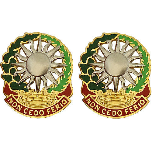 3rd ADA (Air Defense Artillery) Unit Crest (Non Cedo Ferio)