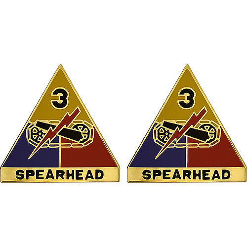 3rd Armored Division Unit Crest (Spearhead)