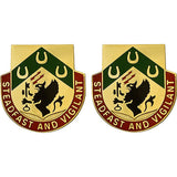 Special Troops Battalion, 3rd Brigade, 1st Cavalry Division Unit Crest (Steadfast and Vigilant)