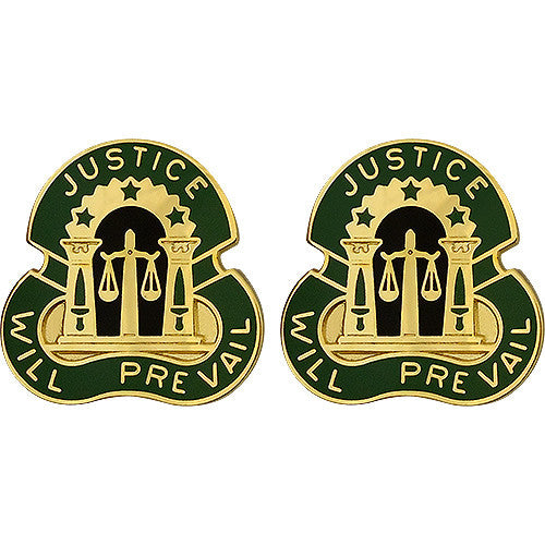 3rd Military Police Group Unit Crest (Justice Will Prevail)