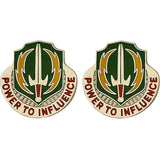 3rd Psychological Operations Battalion Unit Crest (Power to Influence)