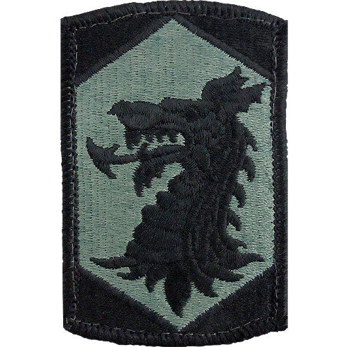 404th Chemical Brigade ACU Patch