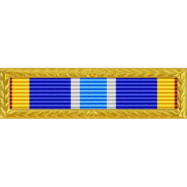Air Force Expeditionary Service with Gold Frame Tiny Ribbon
